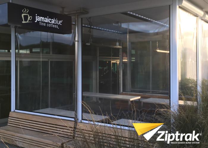 Ziptrak Clear PVC Outdoor Blind 2