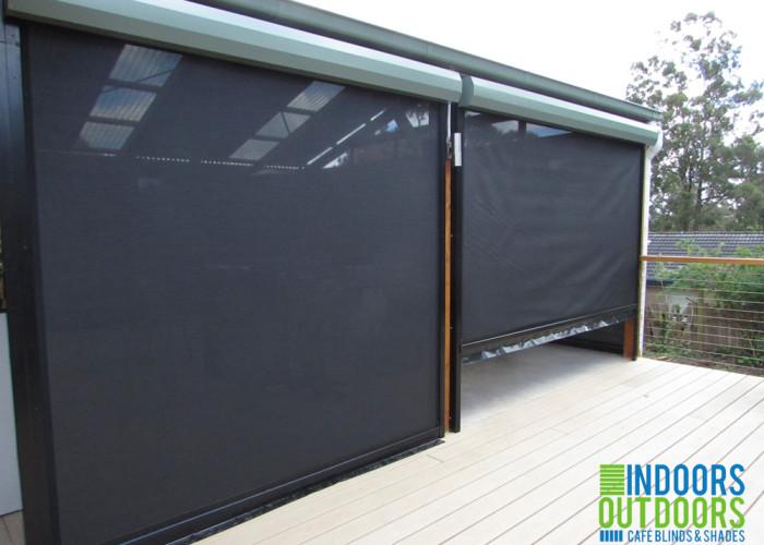 Outdoor blind for verandah