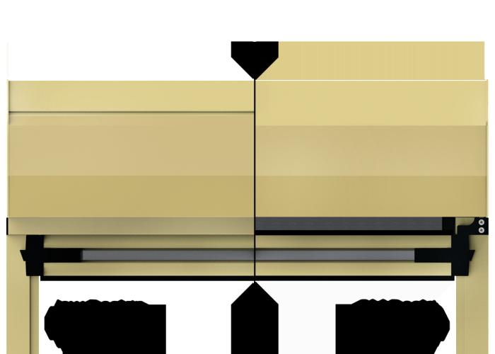 Ziptrak Aluminium Pelmet