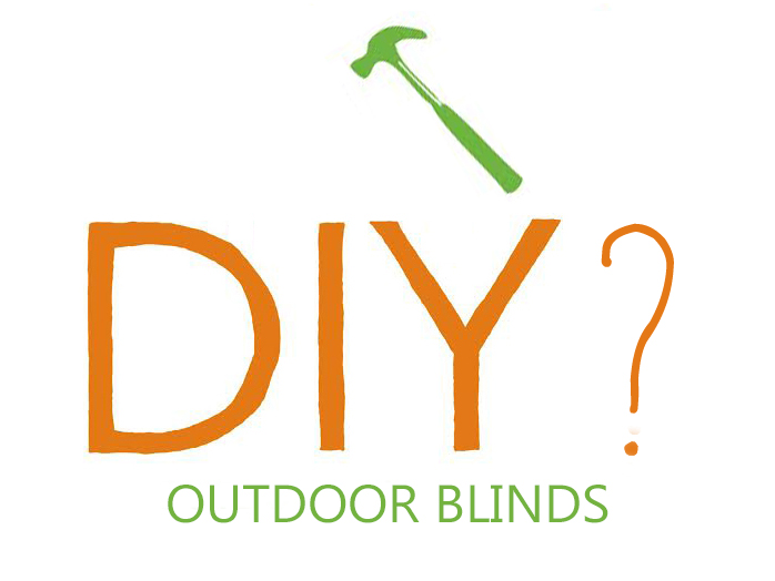 DIY outdoor blinds   Outdoor blind online