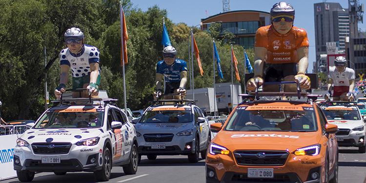 Ziptrak- tour down under 2019 parade car