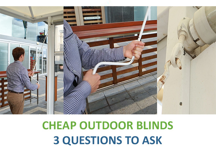 Cheap outdoor blinds