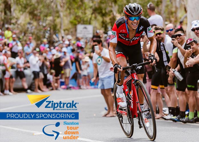 Ziptrak® is sponsoring the Tour Down Under